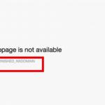 DNS Probe Finished Error