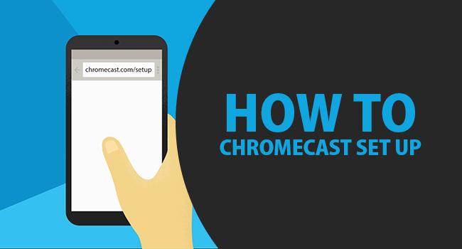 How to setup chromecast on windows 10