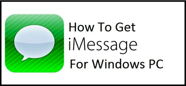 Get iMessage for Windows PC