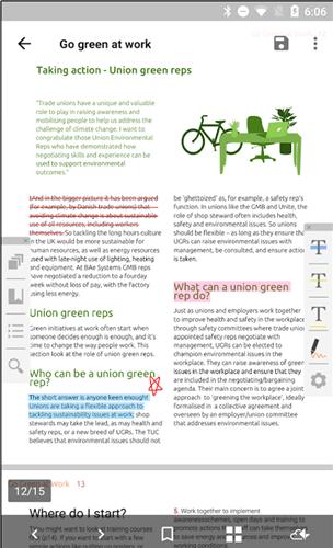 Kadan PDF Reader and Editor